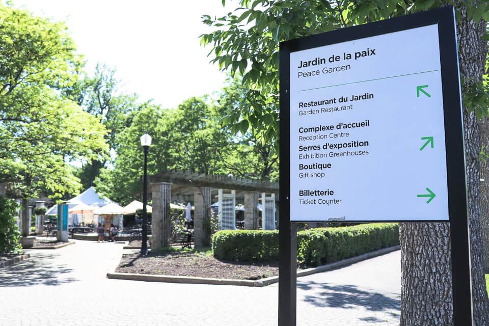 O que fazer em Montreal ? Visite o Jardim Botânico de Montreal, muito bonito e autoguiado com ajuda das placas informativas