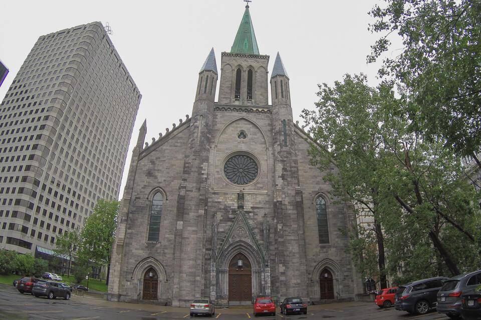 O que ver e fazer em Montreal St. Patrick's Basilica