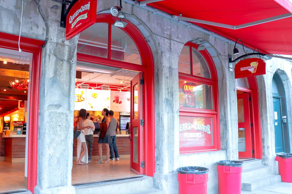 Onde comer em Montreal o Queues de Castor