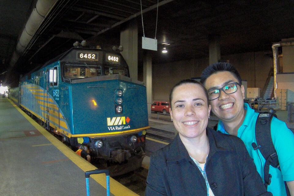 Como ir de trem de Montreal para Quebec, canada