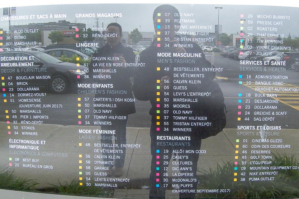 Lista das lojas e restaurantes do Marché Central, Montreal