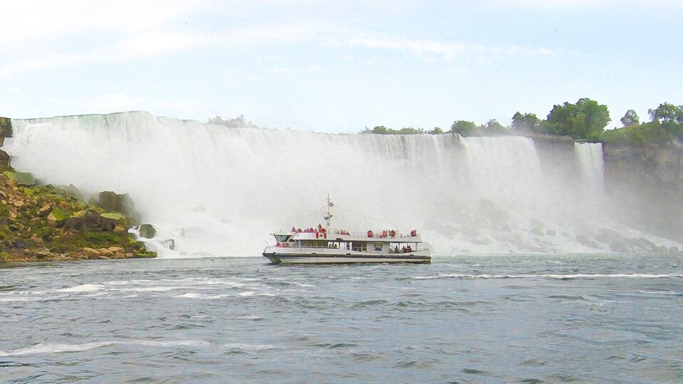 Passeio de barco Hornblower Niagara Cuises