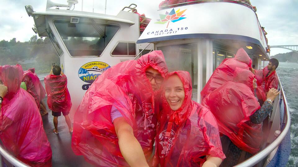 niagara falls passeio de barco