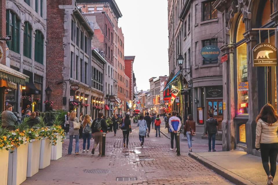 Onde ficar hospedado em Montreal? Old Montreal