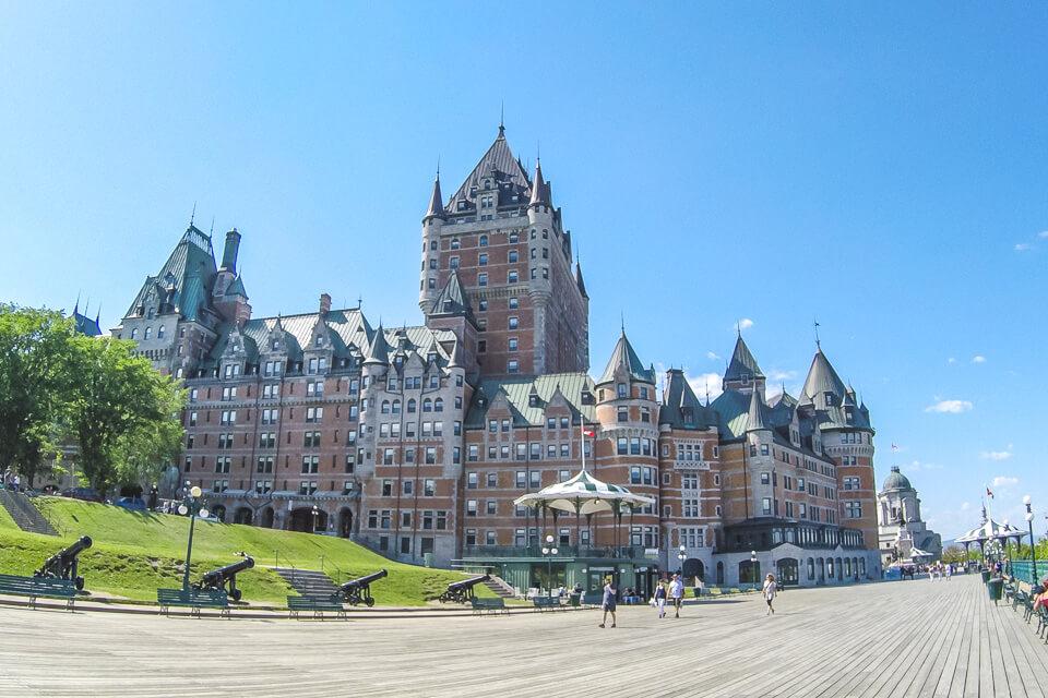 Onde ficar em Quebec– Cidade Alta (Haute Ville)