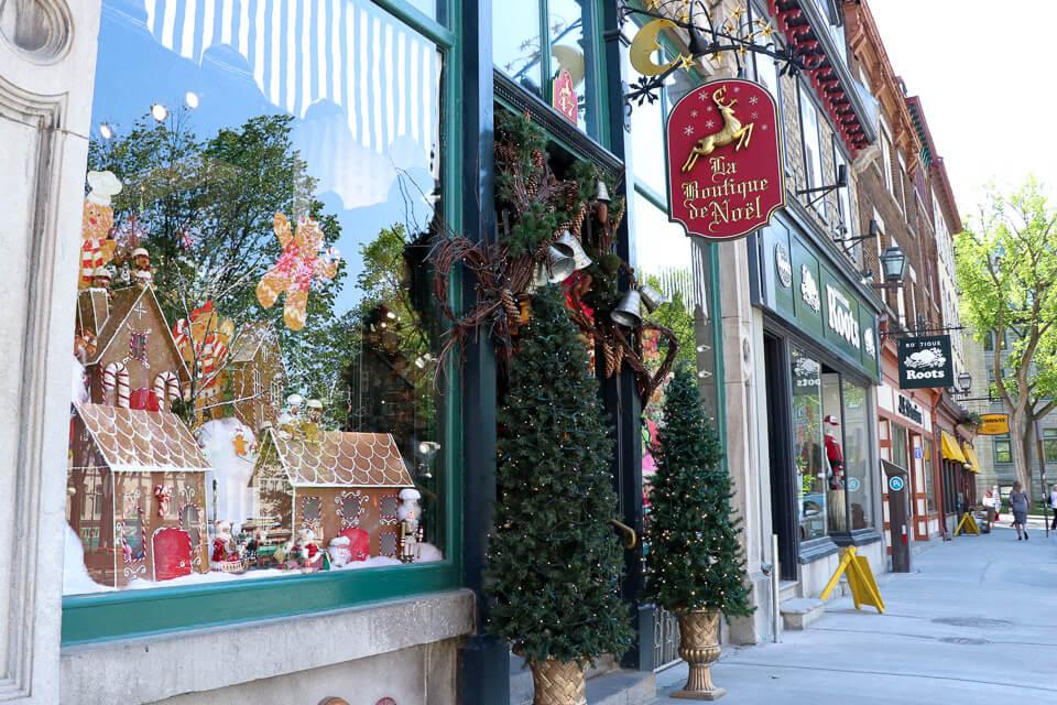 Compras em Quebec - La Boutique de Noel