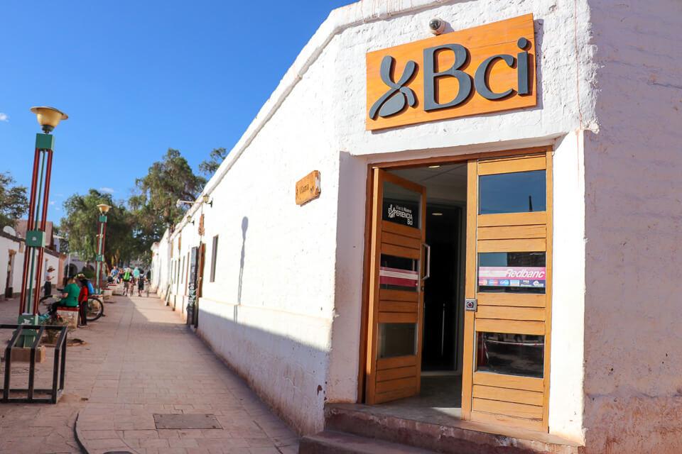 Onde trocar dinheiro no Atacama