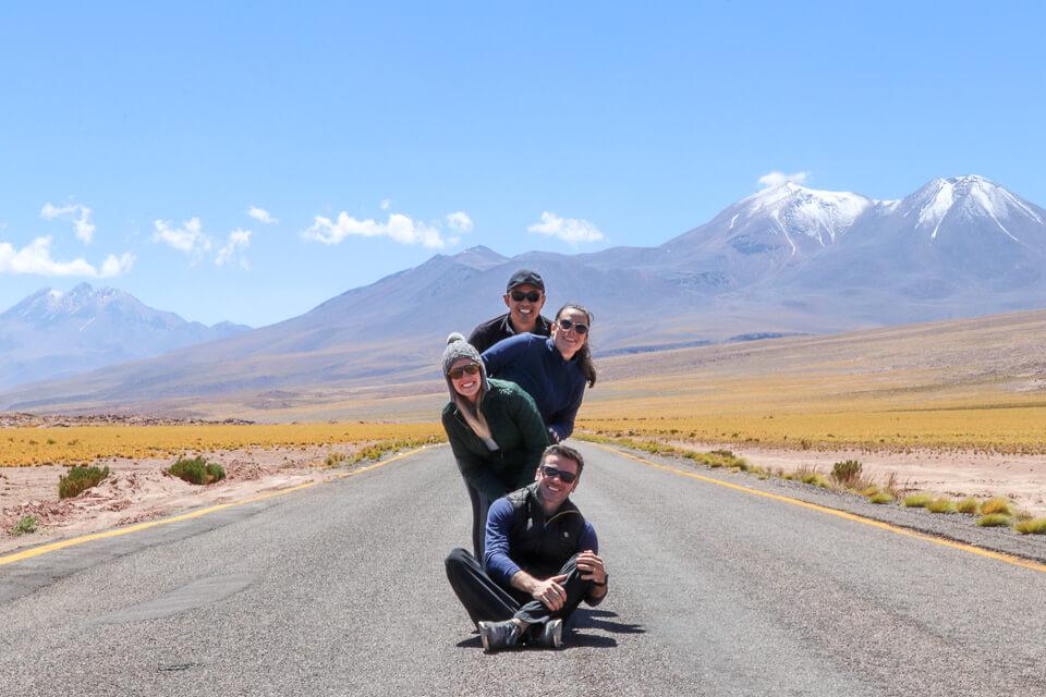 Principais desertos do mundo - deserto do Atacama - Lagunas Altiplânicas