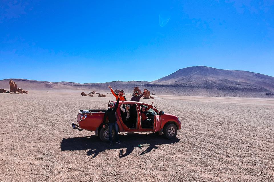Como é o passeio de carro no Salar de Tara no Atcama