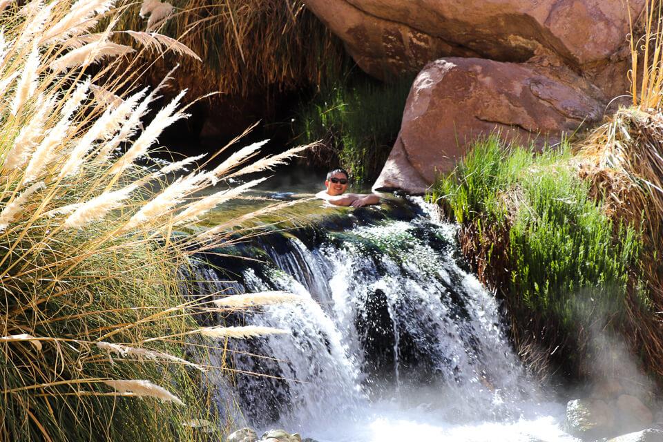 águas termais de termas de puritama