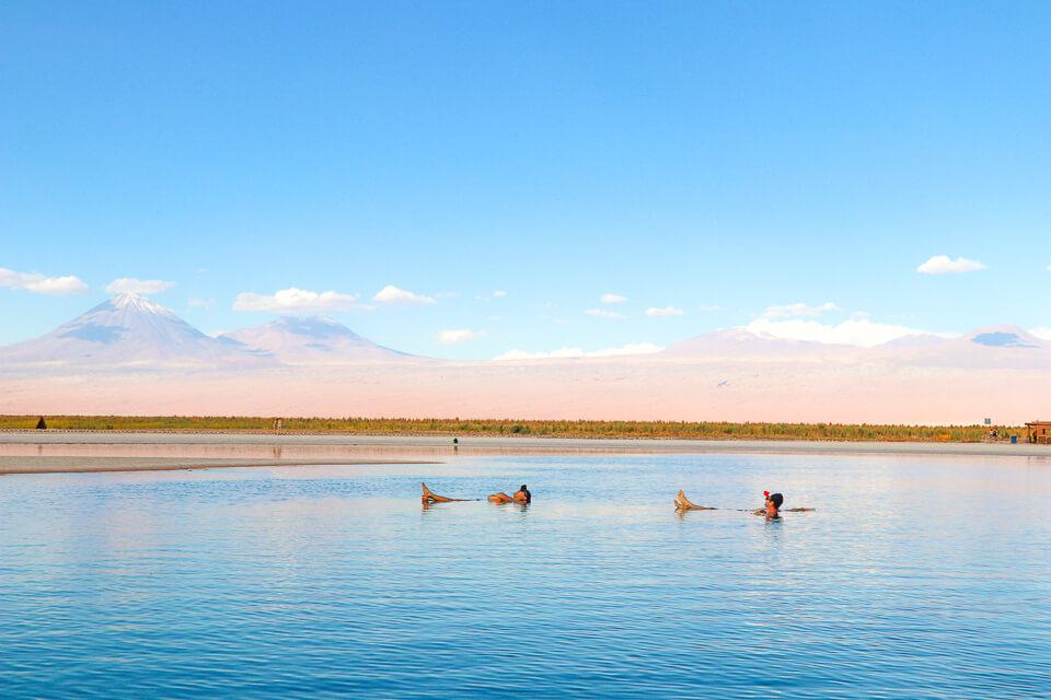 Roteiro de 6 dias no Atacama - passeio Laguna Cejar em San Pedro de Atacama