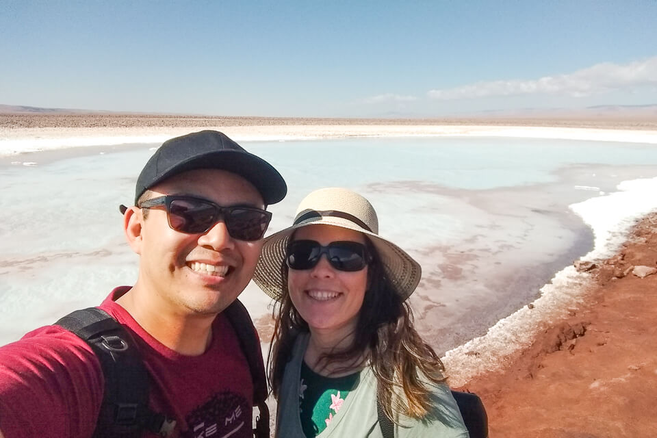 Como são as Lagunas Escondidas de Baltinache - Deserto do Atacama