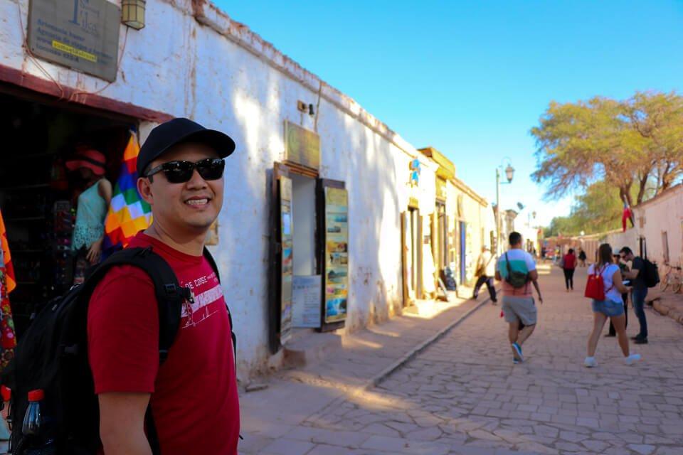 Rua Caracoles em San Pedro de Atacama