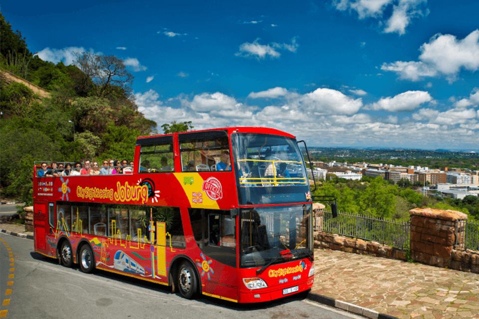 City Sightseeing, o ônibus turístico de Joanesburgo