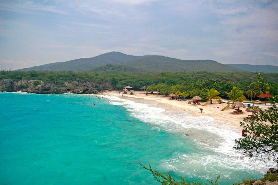 Quais as principais praias de Curaçao