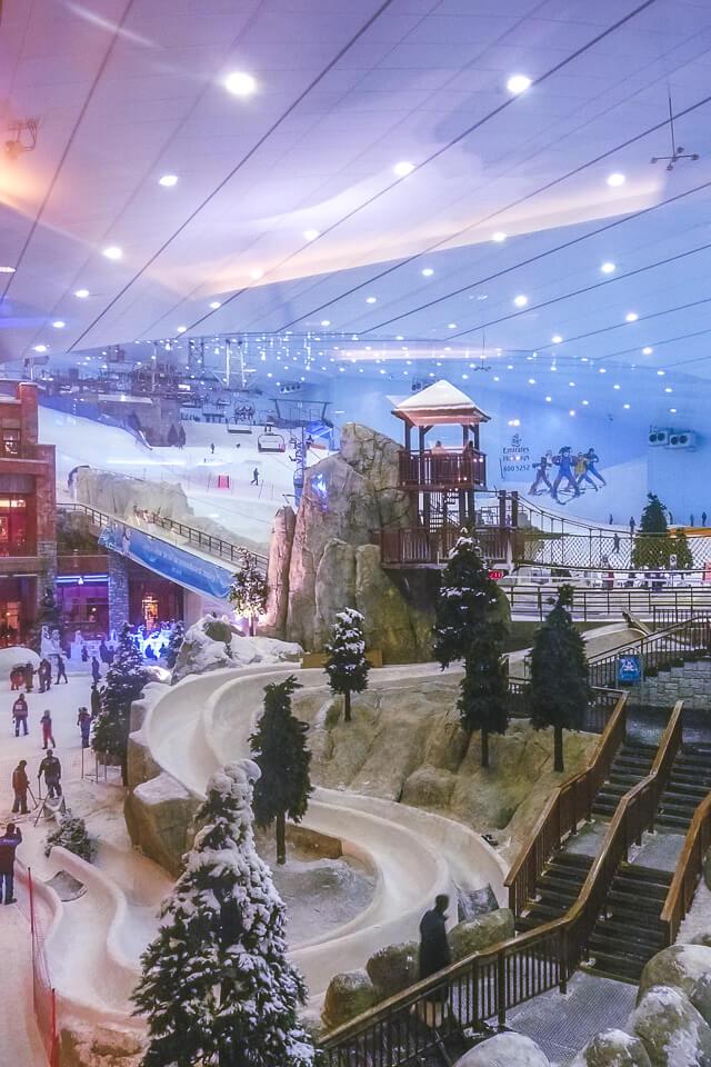Onde fazer compras em Dubai e a pista de esqui - Roteiro de 3 dias em Dubai
