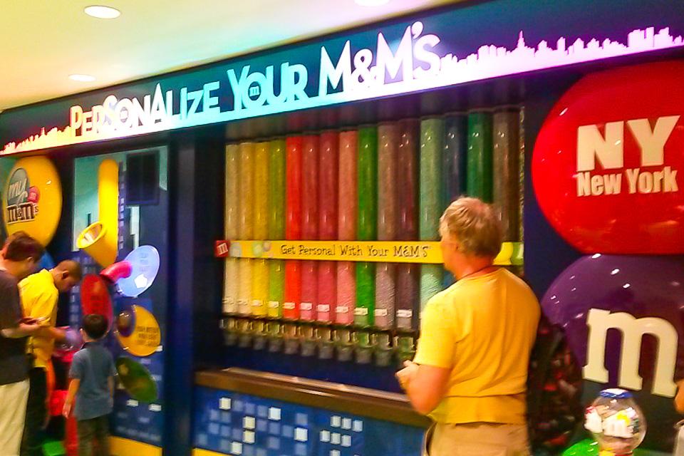 Roteiro de 4 dias em Nova York com compras na M&M's