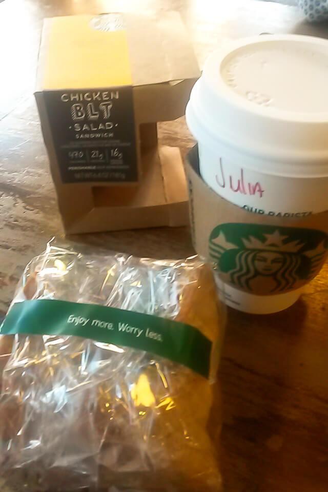 Onde comer barato em Nova York? Starbucks