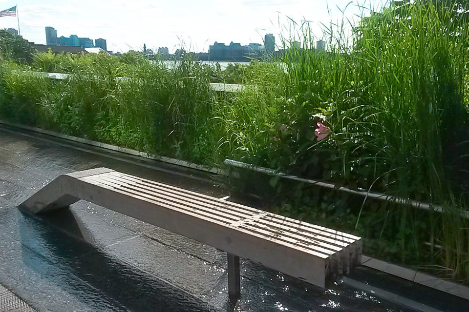 The High Line Park é um dos principais pontos turísticos de Nova York