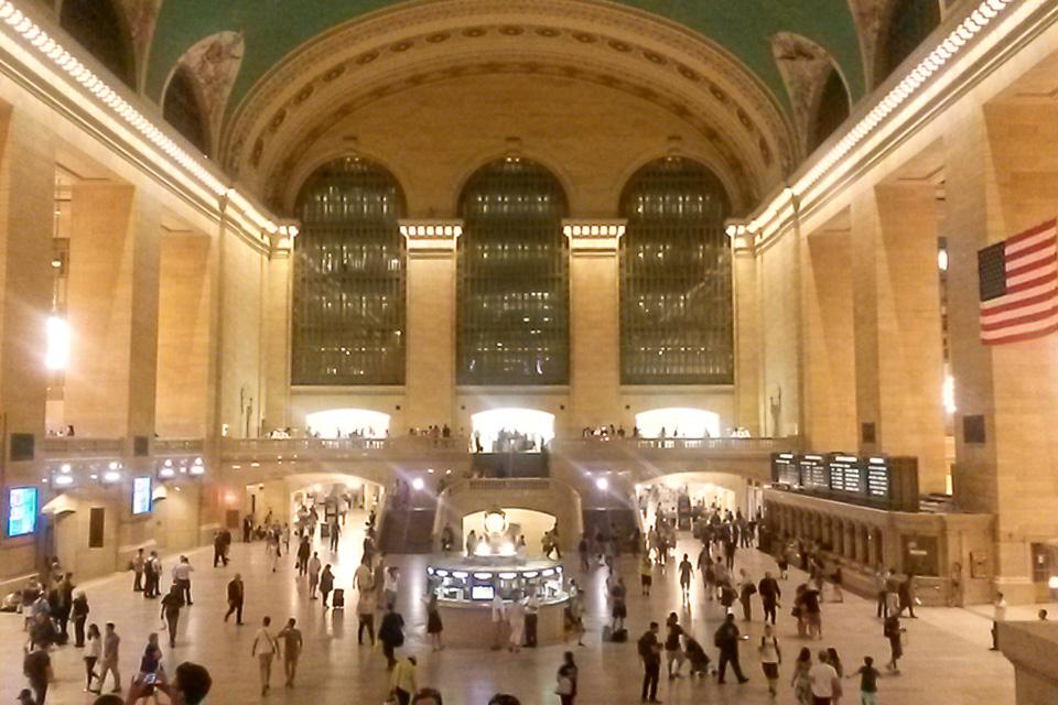 Roteiro em Nova York com visita ao Grand Central Terminal