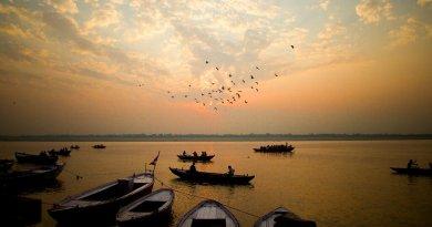 Lugares imperdíveis na India Varanasi Rio Ganges