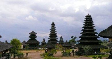 Principais templo de Bali