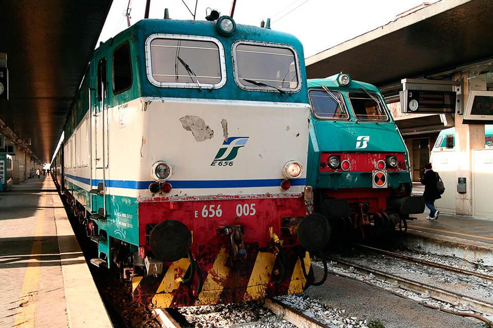 Como chegar de trem em Veneza