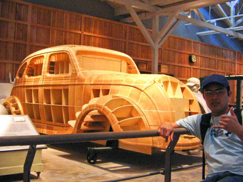 Museu de automóveis em Nagoya Japão