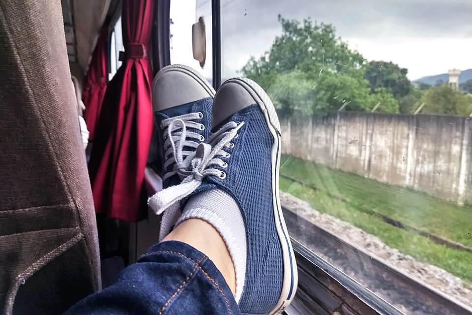 Passeios e viagens de trem