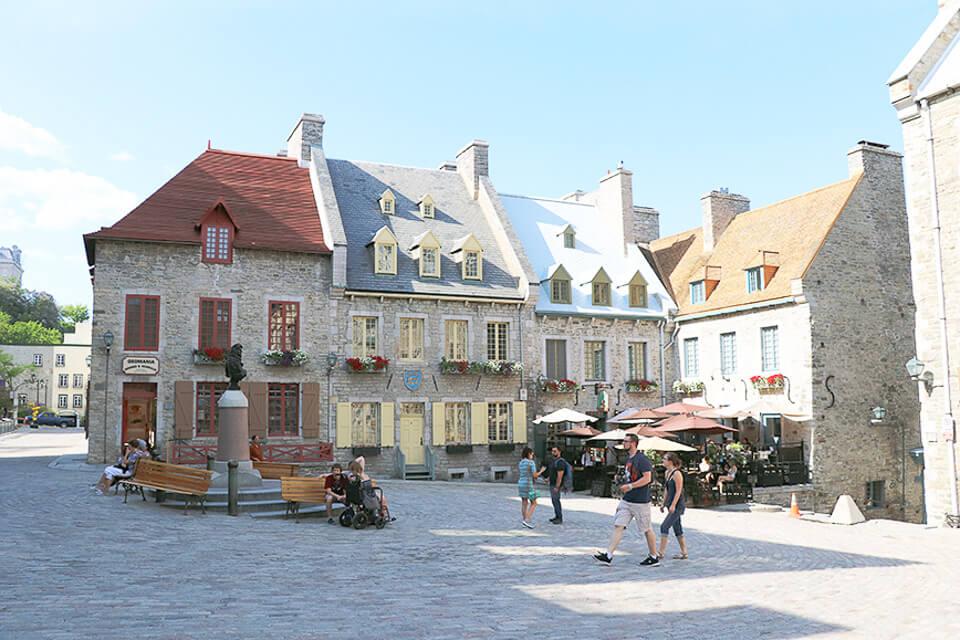 Onde comer em Quebec City? Restaurantes na Place Royale