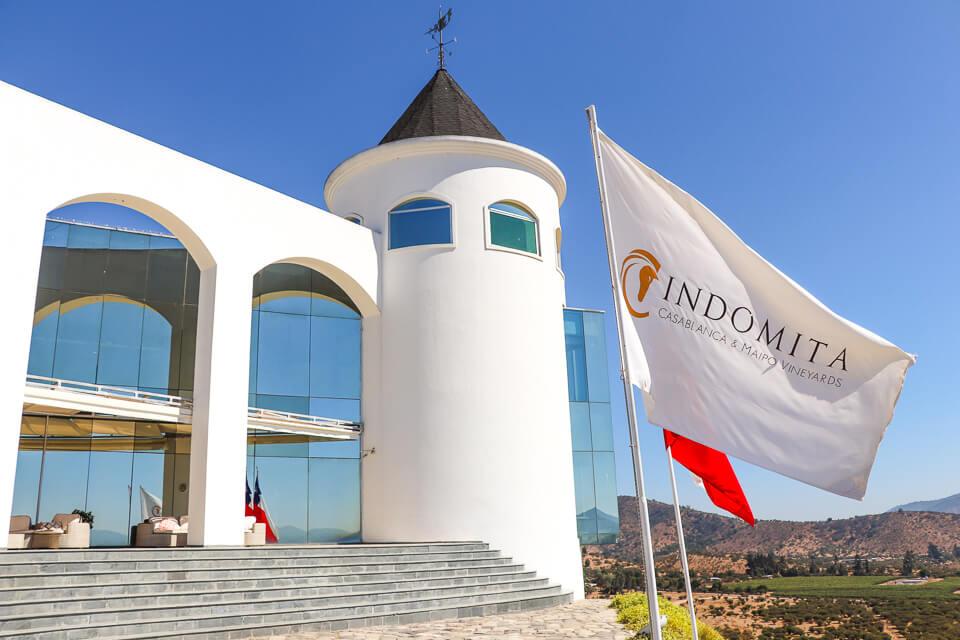 Valle de Casablanca - Roteiro do vinho - Vinícola Indómita