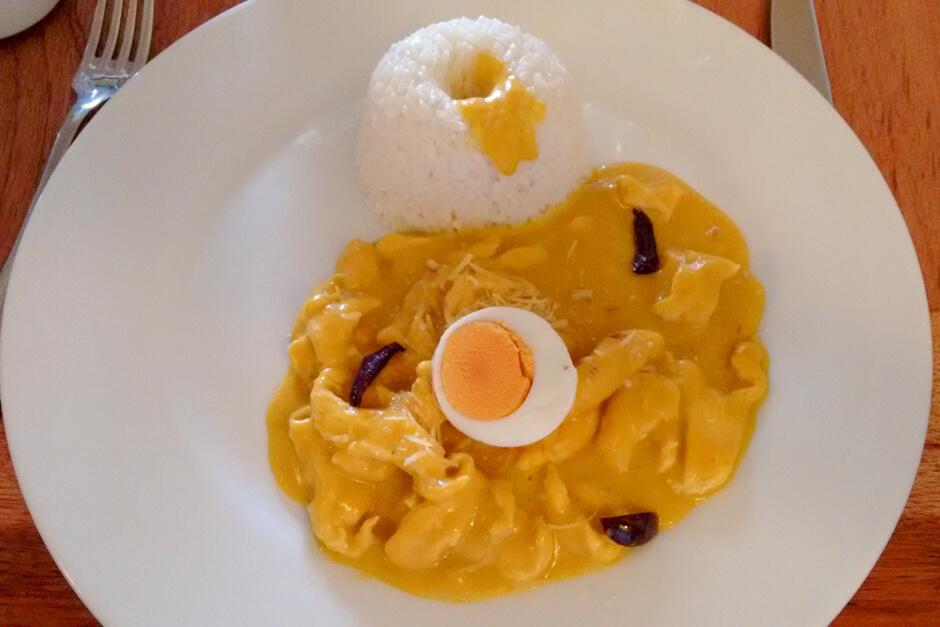O que comer no Peru - Ají de gallina