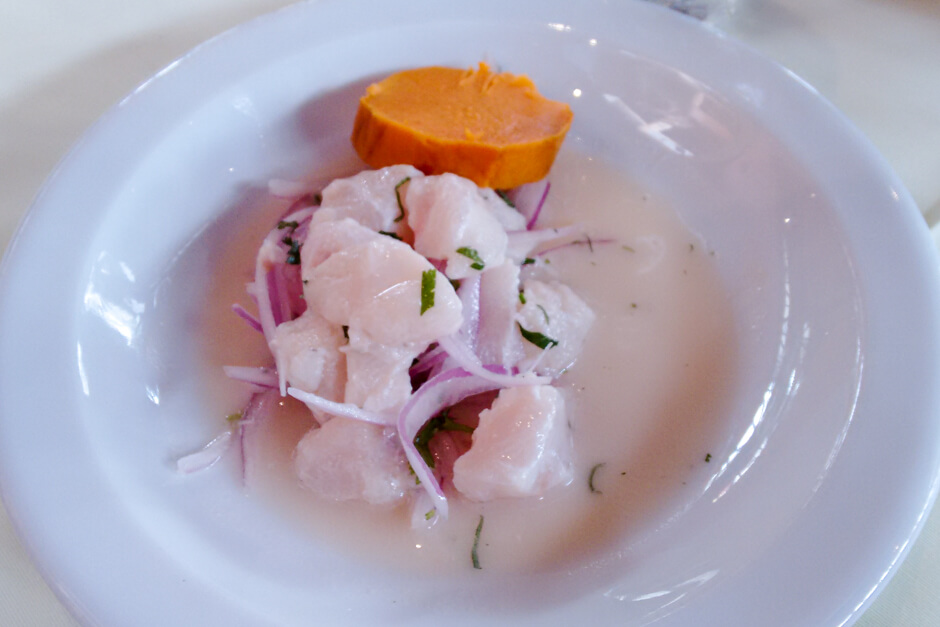 O que comer em Lima - Ceviche
