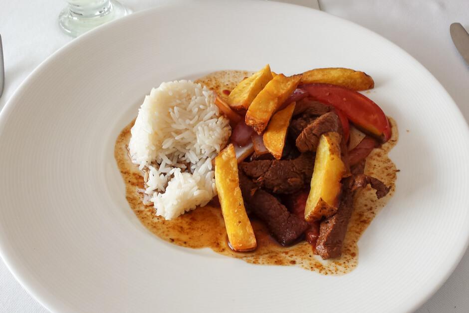 O que comer no Peru - Lomo Saltado