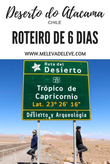 Roteiro de 6 dias pelo deserto do Atacama