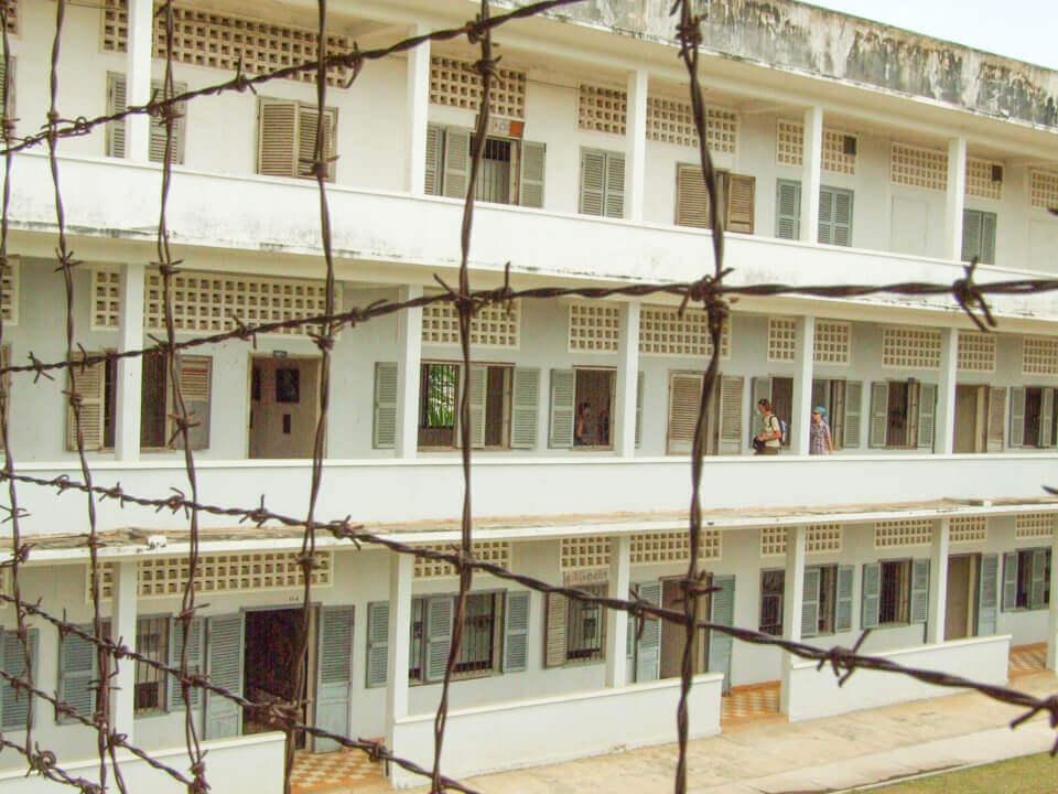 Museu sobre regime Khmer Vermelho