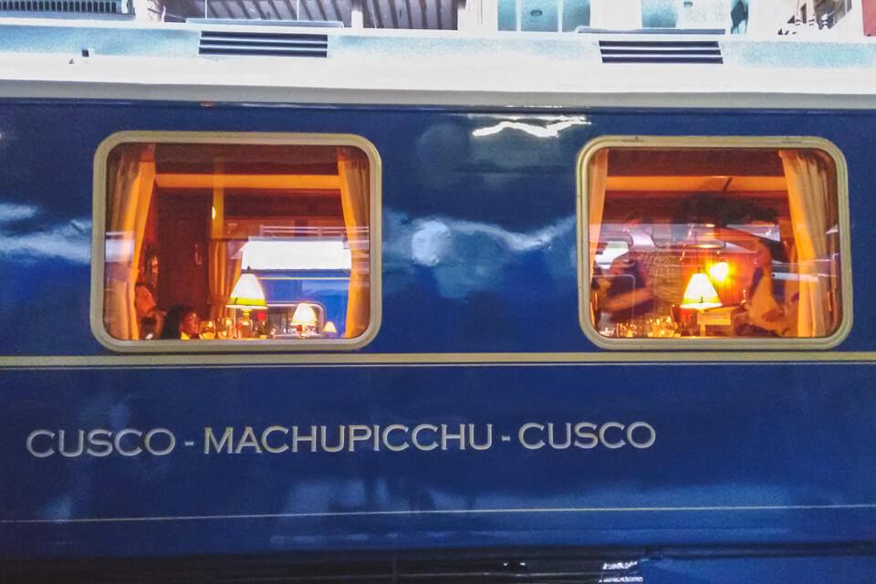 Trem Hiram Bingham Machu Picchu Cusco