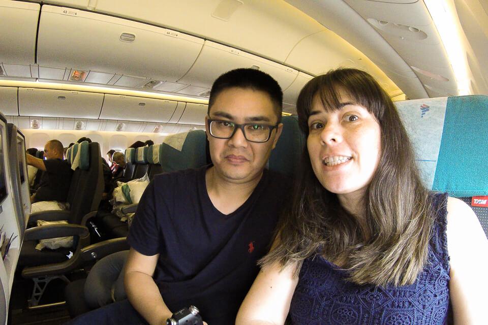 Como são os assentos do voo da Latam para o Chile