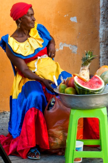 ciudad amurallada, Palenqueira. Cartagena de Indias, Rafaela Ely©2013