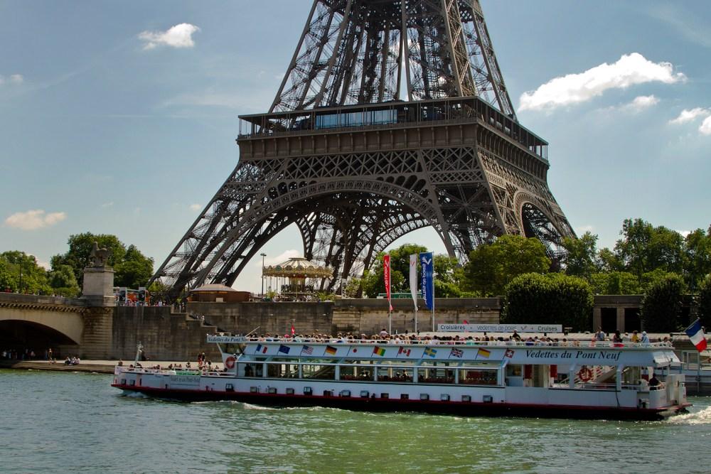 Torre Eiffel, Paris, França - julho/agosto, 2016. (Foto: Rafaela Ely)
