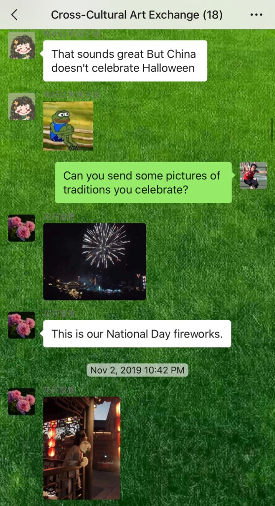 Weekly Conversations – Holidays
