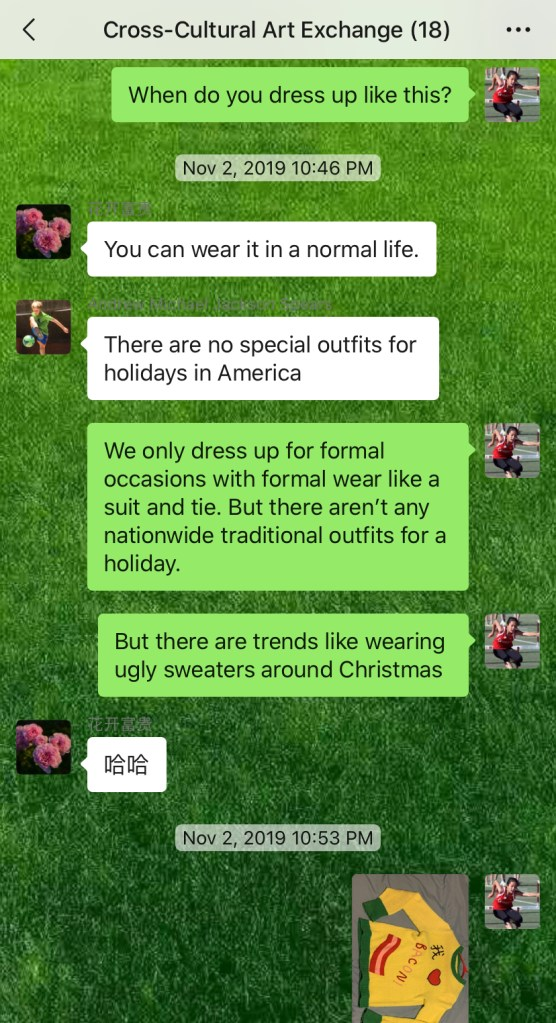 Weekly Conversations – Ugly Christmas Sweaters