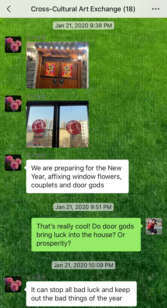 Weekly Conversations – Chinese New Year Decorations