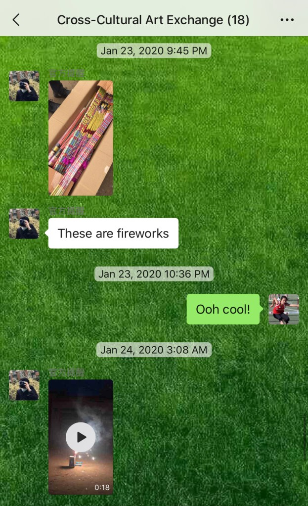 Weekly Conversations – Chinese New Year Fireworks