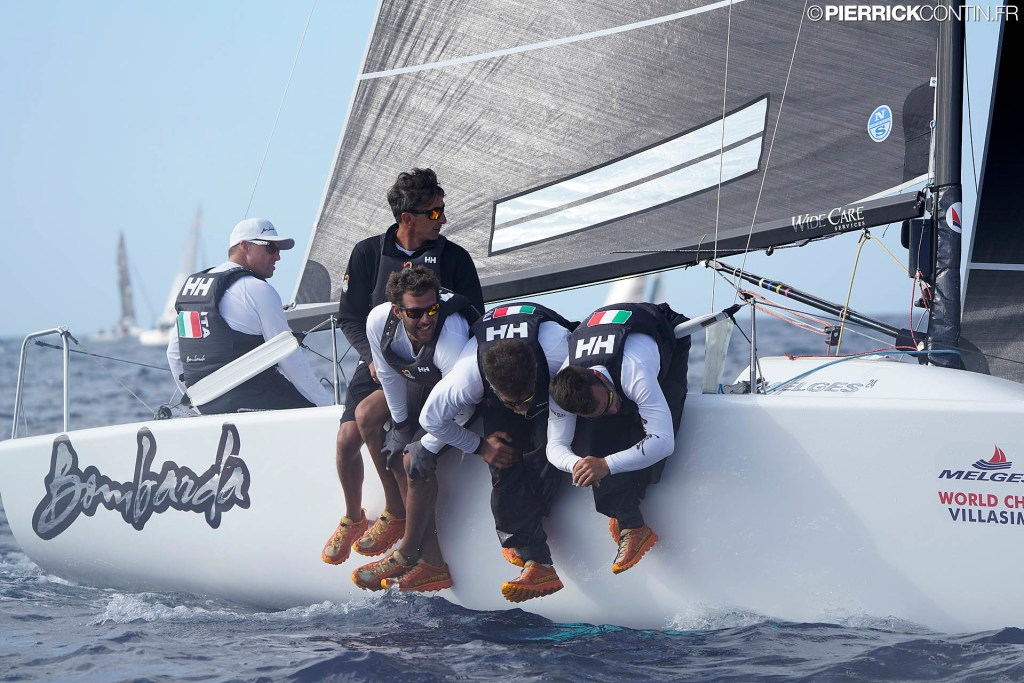 Bombarda ITA860 by Andrea Pozzi gains another victory in today's first race. Photo © Pierrick Contin / IM24CA