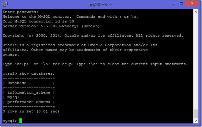 Install MySQL 2
