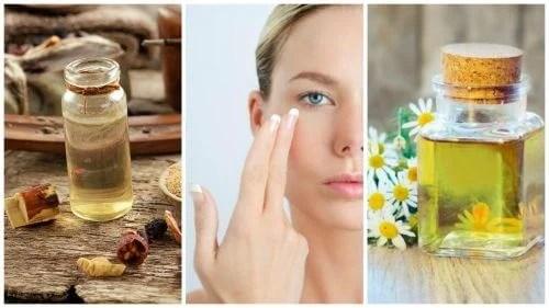 reduza-rugas-finas-contorno-dos-olhos-com-esses-6-oleos-essenciais 5 cremes naturais para o contorno dos olhos