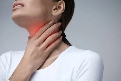 dor-nos-musculos Nódulos na garganta - 5 sinais possíveis