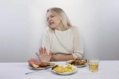 Falta de apetite