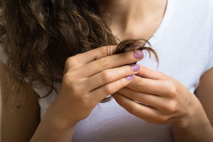 pontas-duplas-cabelos Benefícios do mel para o cabelo